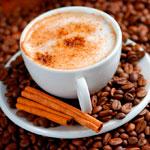 Кофе с корицей и молоком